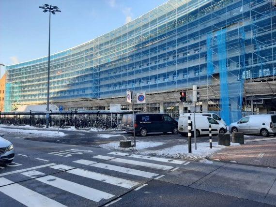 station Amersfoort gevelrenovatie